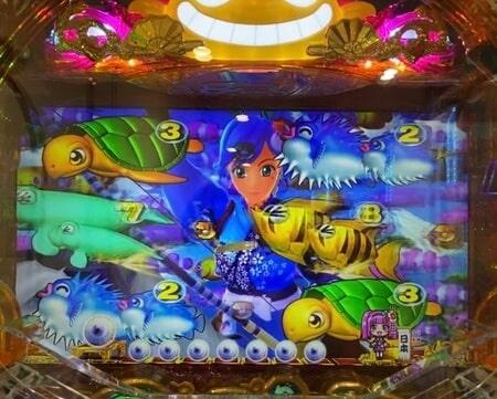 海物語ジャパン2金富士9