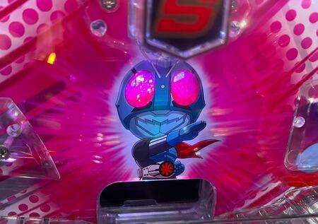 仮面ライダー轟音ライト甘5